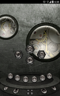 Next Launcher Theme SteampunkW - screenshot thumbnail