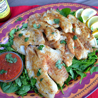 Sweet and Tangy Flame Grilled Tilapia Recipe { #PrimoPicks}