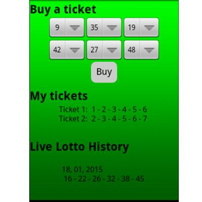 Tokens Lotto