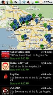Live Food Trucks Map - TruxMap - screenshot thumbnail