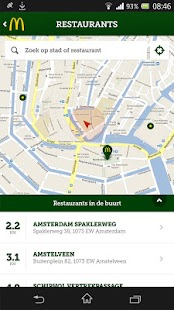 McDonald's Nederland - screenshot thumbnail