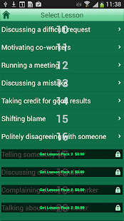 Speak Business English- screenshot thumbnail