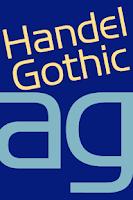 Screenshot of Handel Gothic FlipFont