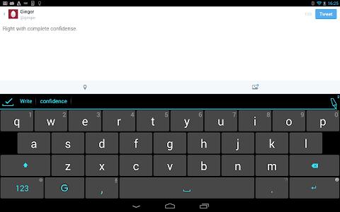 Ginger Keyboard-Emoji Keyboard v4.9.6