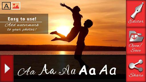 사랑 - 사진에 텍스트 앱 - 사진 편집기 어플