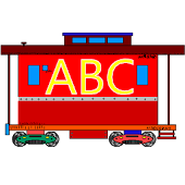 Free ABC Trains 2 (English)