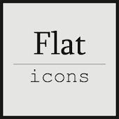 Flat icons (ADW/Apex/GO/Nova)