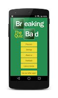 Screenshot of Breaking Bad - The Quiz!
