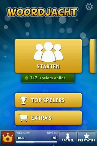Woordjacht- screenshot