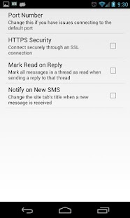 Browser SMS Messenger - screenshot thumbnail