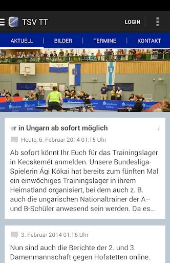 TSV Schwabhausen Tischtennis