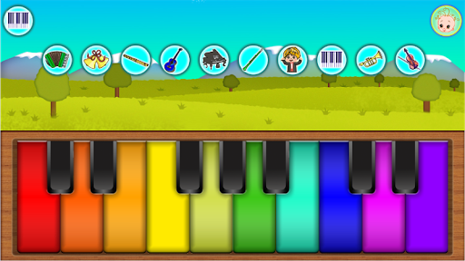 Baby Piano 1.1.0 screenshots 2