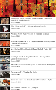 Violin Classical Music - screenshot thumbnail