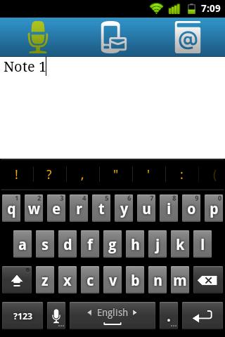 Qnote - simple notepad - screenshot