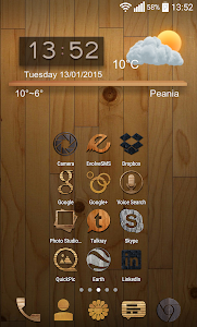 Wooden-PD Icon Pack v1.0