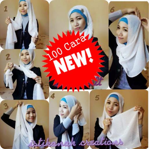 100 Cara Memakai Jilbab Modern