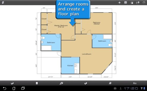 ROOM+ for Tablet [Floor plans] - screenshot thumbnail