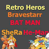 4 In 1 Retro Heroes Cartoon