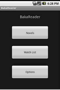 BakaReader - screenshot thumbnail