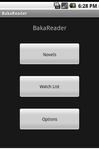 BakaReader - screenshot