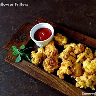 Crispy Cauliflower Fritters.