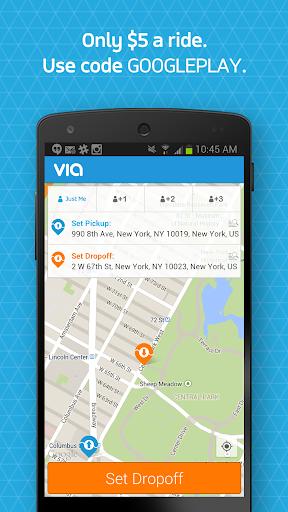 Via - Smarter NYC Ridesharing