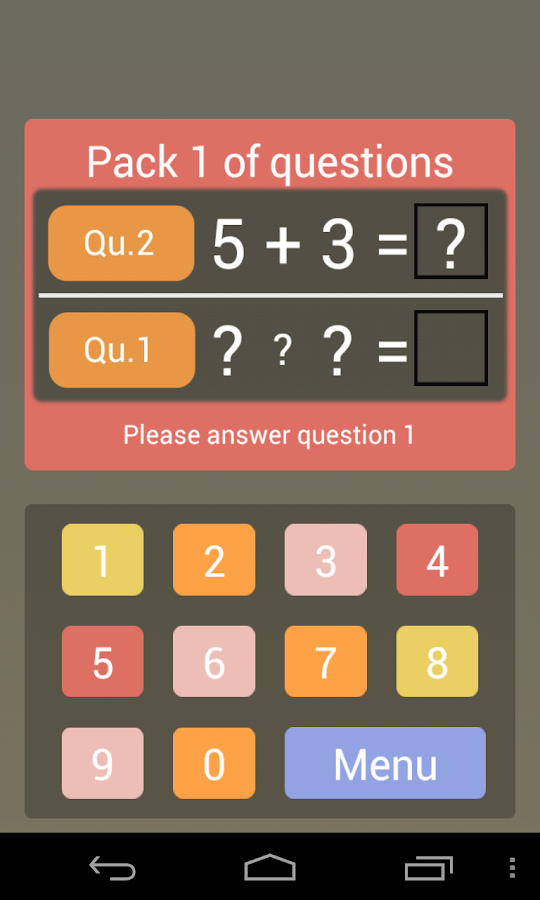 Crazy Arithmetic- screenshot
