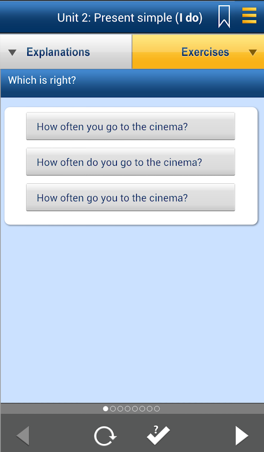 English Grammar in Use- screenshot