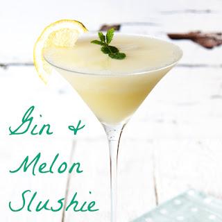 Gin and Melon Slushie.