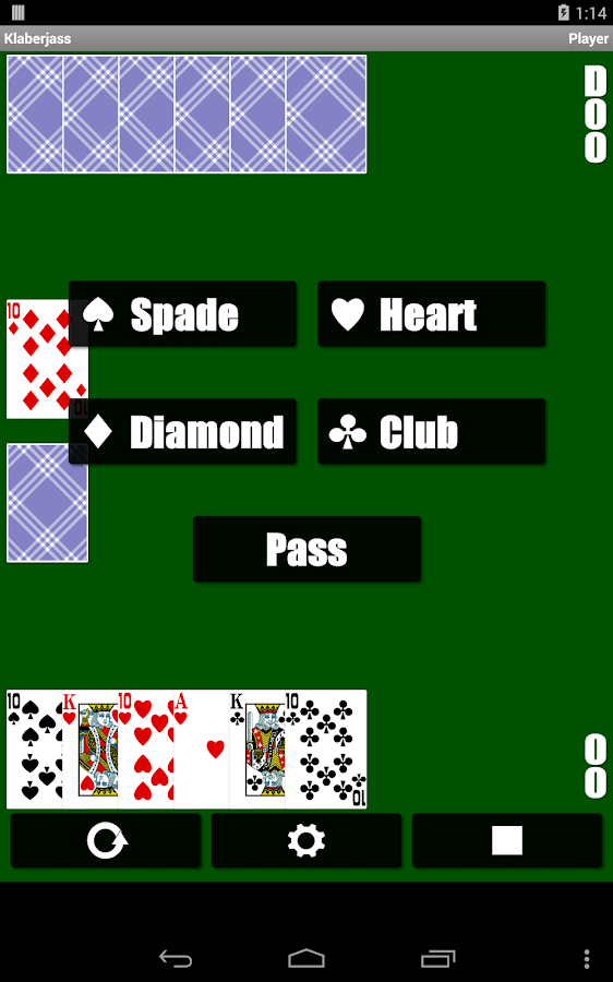 Klaberjass - screenshot