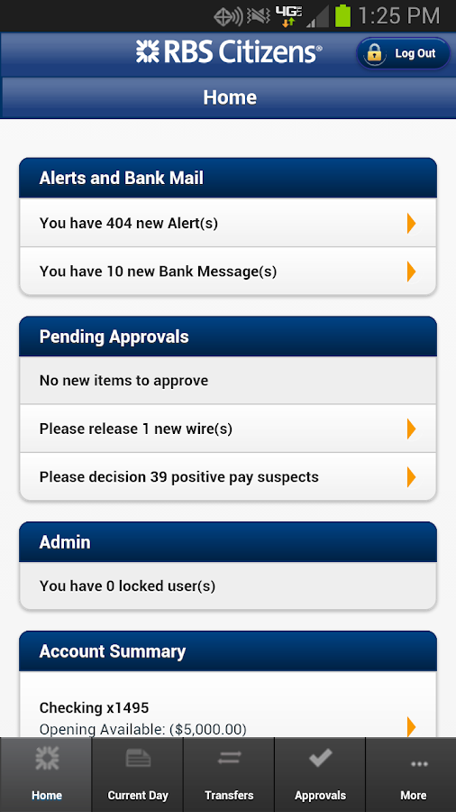 accessMOBILE by RBS Citizens - screenshot