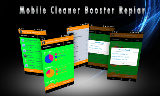 Mobile Cleaner Booster Repiar