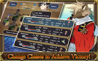 SRPG Legend of Ixtona APK screenshot thumbnail 13