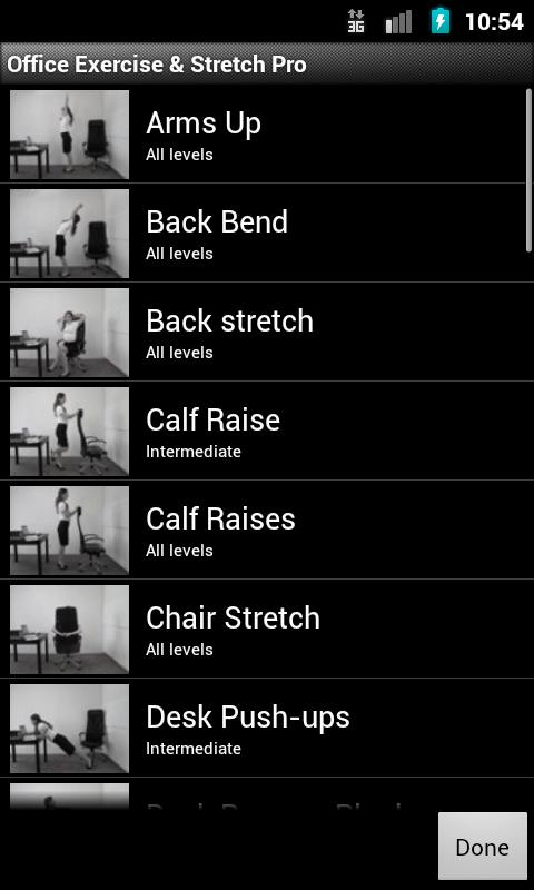 Office Exercise & Stretch - screenshot