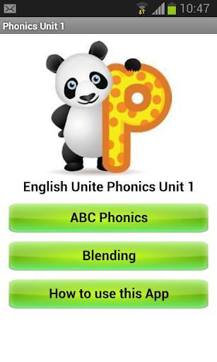 EU Phonics 1