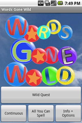 Words Gone Wild Pro- screenshot