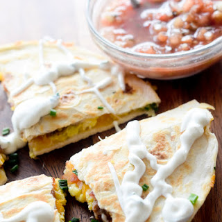 The Hangover Quesadilla