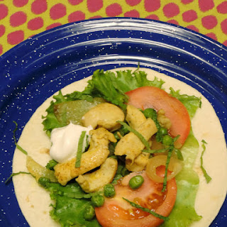 Curried Chicken Wraps! #WeekdaySupper