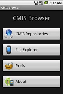 CMIS Browser- screenshot thumbnail