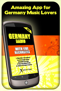 Germany Radio - With Recording - screenshot thumbnail