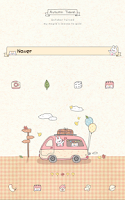 Screenshot of Autumn travel Dodol Theme