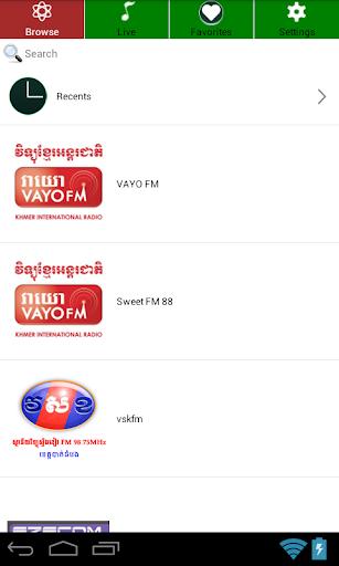 Cambodia FM Radio