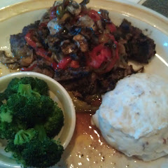 GF smothered sirloin tips! Yum!