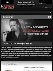 ASTON Cigarette électronique screenshot 2