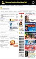 Screenshot of ESAT TV