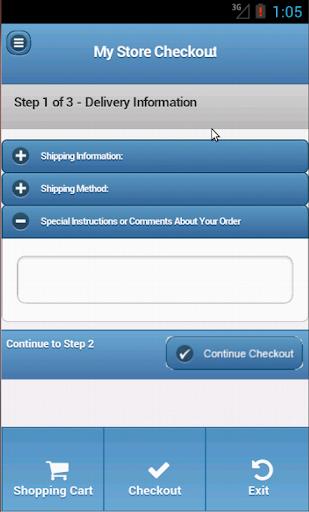 Zen Cart mobile app