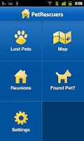 Screenshot of PetRescuers by HomeAgain