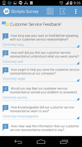 iScripts Survey