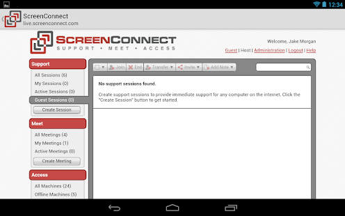 ScreenConnect - screenshot thumbnail