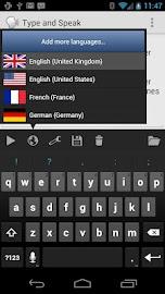 Type and Speak Screenshot 2